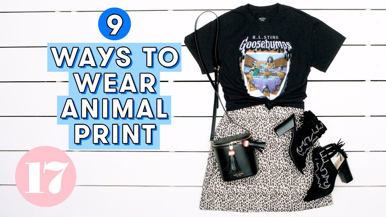 [VIDEO] - 9 Hot Leopard Print & Snakeskin Outfit Ideas | Style Lab 3