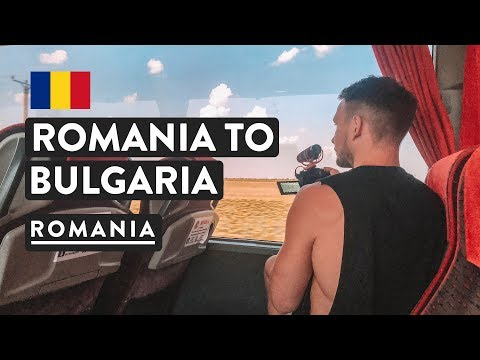 12 HOURS ROMANIA TO BULGARIA BUS | Bucharest to Plovdiv Travel Vlog 2018