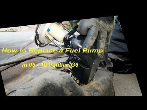 How to Replace a Fuel Pump in 05 – 10 Pontiac G6