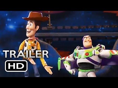 TOY STORY 4    2 2019 Tom Hanks, Tim Allen Disney Pixar Animated Movie HD