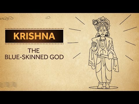 Krishna - The Blue-Skinned God