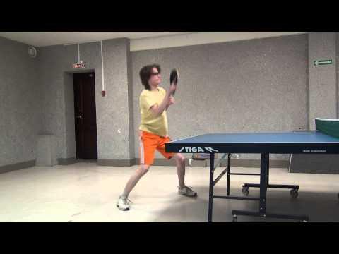 table tennis NSU training 9.04.14. Чайка Иван