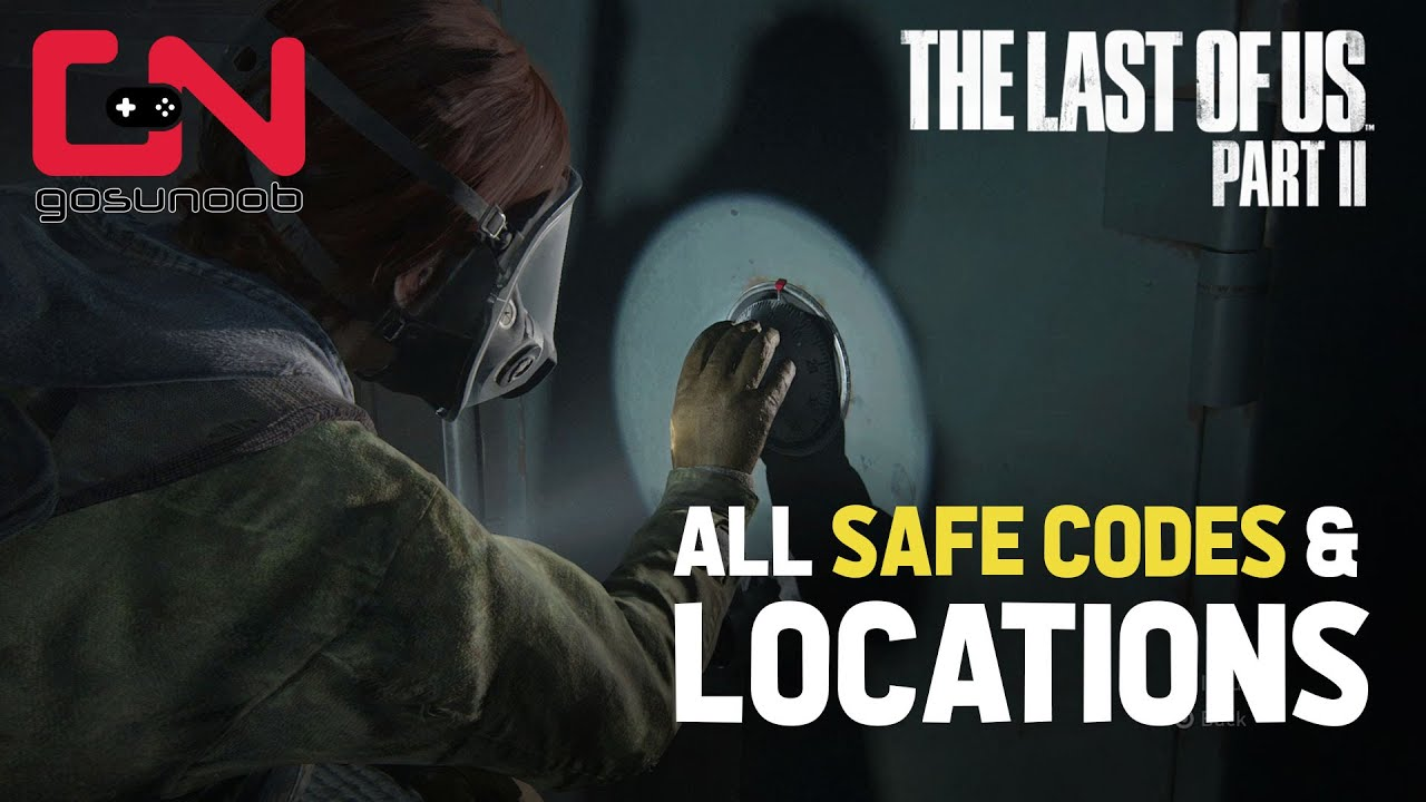 The Last of Us 2: All Safe Code Combinations