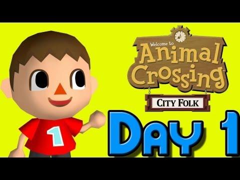 365 Days of Animal Crossing City Folk; Day 1