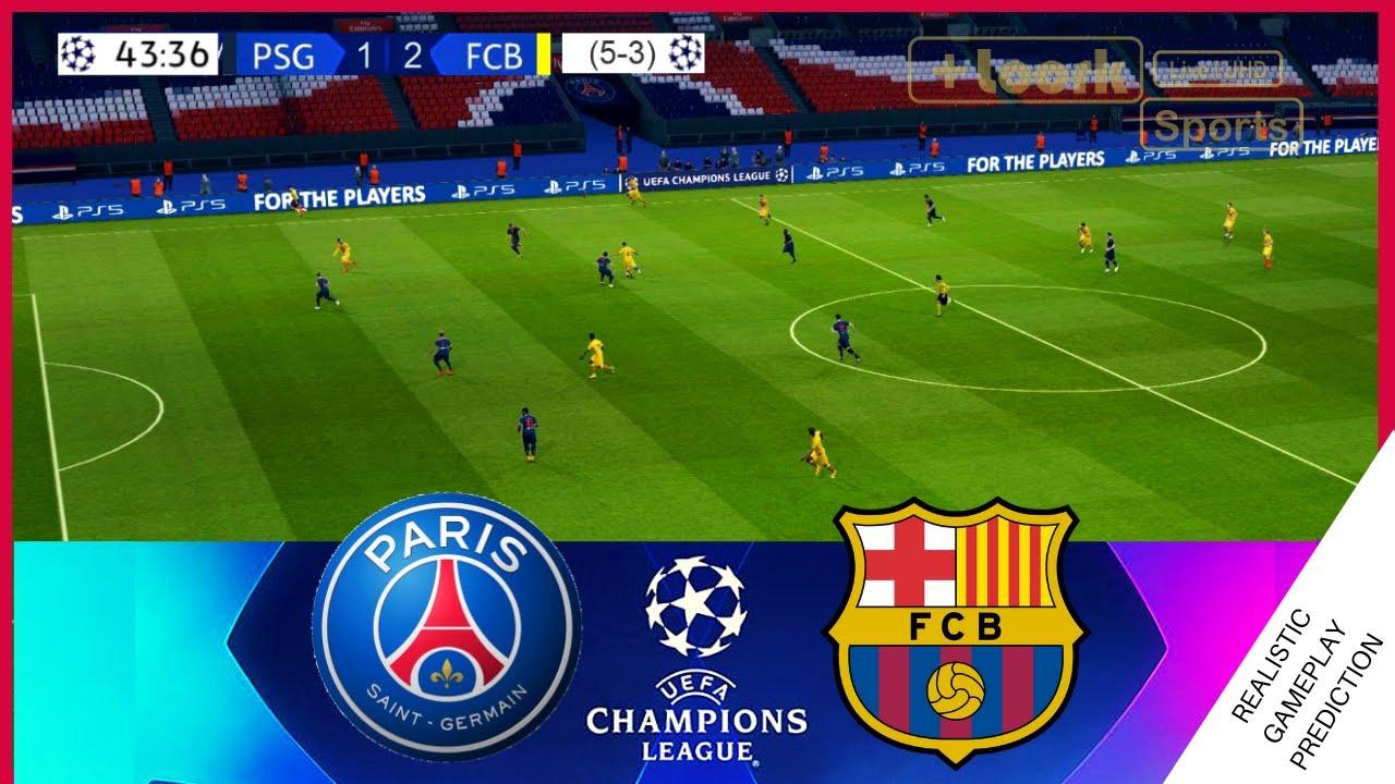 PSG vs BARCELONA | HIGHLIGHTS | RESUMEN | CHAMPIONS LEAGUE ...