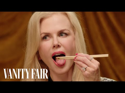 Nicole Kidman Eats Bugs  Secret Talent Theatre  Vanity Fair