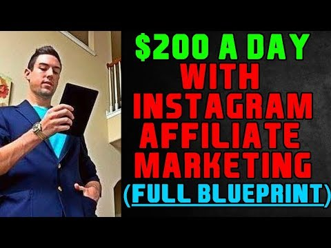 $200/Day With Affiliate Marketing For Instagram! (EASY & SIMPLE)