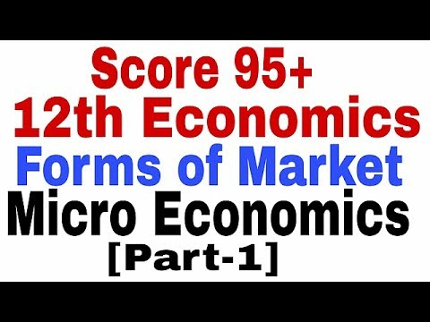 12th Economics-Forms of Market(Hindi/English)