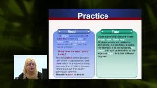 Lexical items - Vocabulary & Reading - اللغة الانجليزية - الصف الثانى عشر