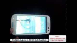 Samsung Galaxy S3 99% Murah!!..