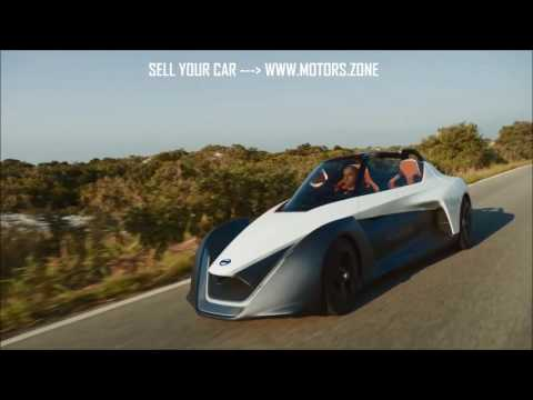 Nissan BladeGlider - new wonderful car for 3 persons.