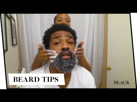 black men beard care 4 ways to get your beard swag youtube. Black Bedroom Furniture Sets. Home Design Ideas