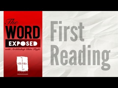 The Word Exposed - First Reading (December 18, 2016)