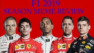 F1 2019 Mid Season Meme Review(Part 1)