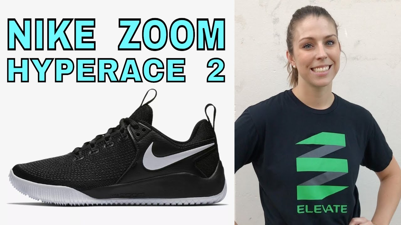dcc49dd46ae4 Nike Women s Zoom HyperAce 2 Volleyball Shoe Review - YouTube