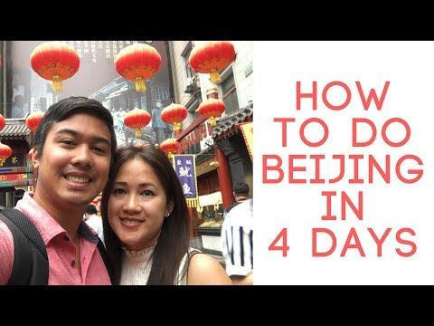 4 days in Beijing - Tips before and during your trip