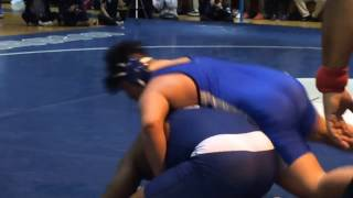 Highlights from Petrides in city wrestling final