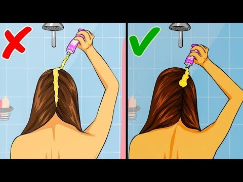 20 RULES TO KEEP HAIR CLEAN AND VOLUMINOUS LONGER