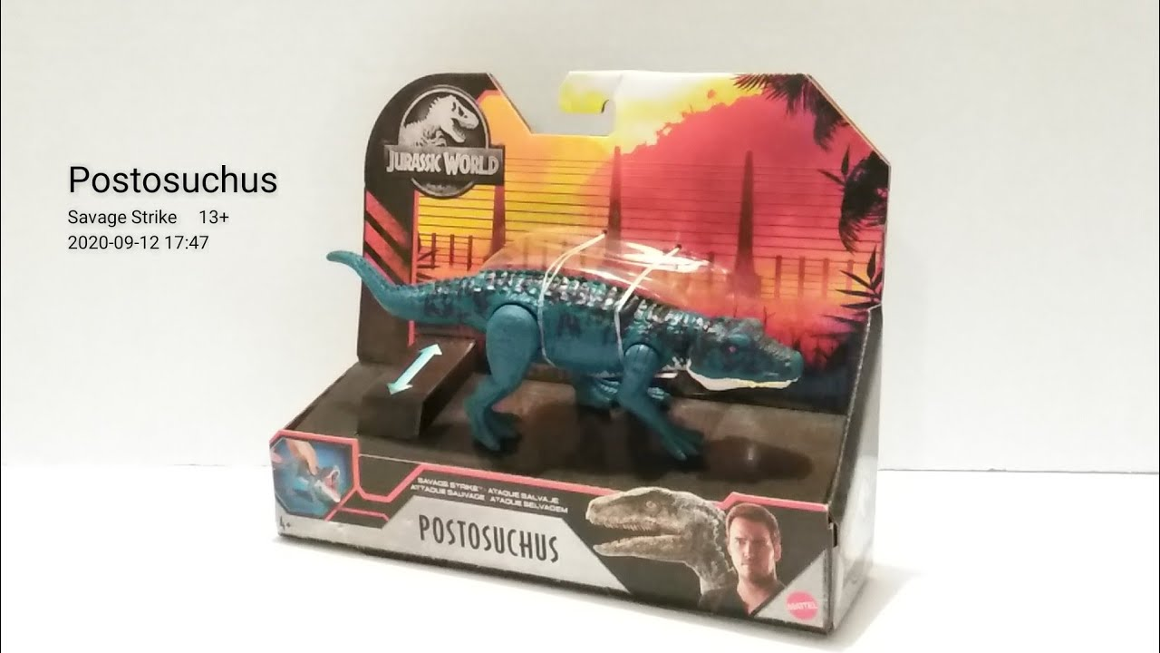 NEW Jurassic World POSTOSUCHUS collection-Savage Strike-RARE