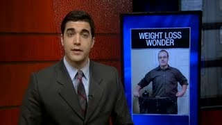 Jonathon Walters - Weight Loss Wonder  - WSIL TV 3 News - 177 Pounds in just over 6 months Naturally