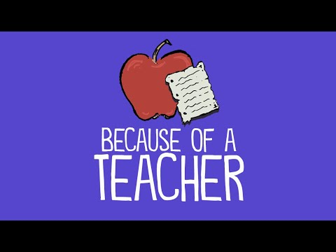 A Thank You Letter to Teachers