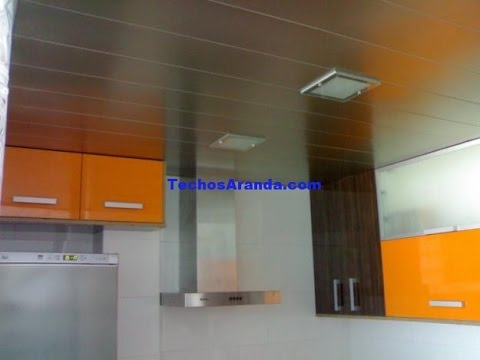 Cielo raso para ba o fabrica de cielorrasos youtube for Revestimiento pared bano pvc