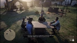 Red Dead Redemption 2 (PS4) - Hosea, Lenny, Tilly and Arthur on How They Would Like to be Buried
