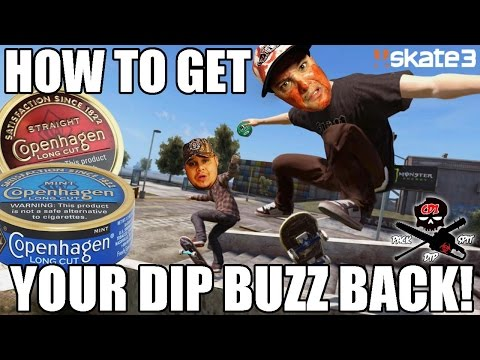 HOW TO GET YOUR DIP BUZZ BACK!   Skate 3 Gameplay