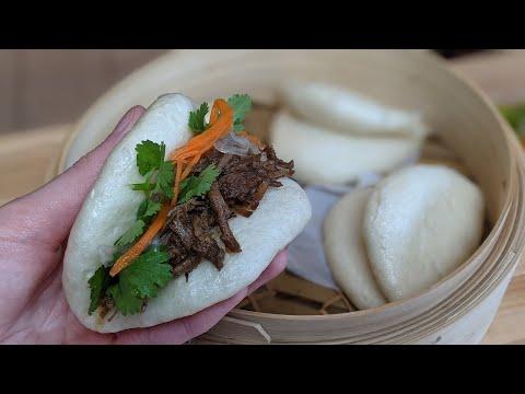 recette-de-petits-pains-vapeur-avec-porc-effiloché-char-siu---gua-bao---hop-dans-le-wok