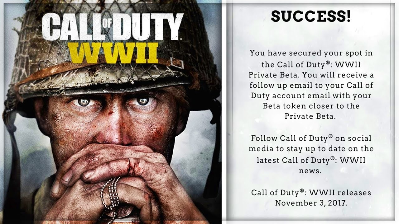 call of duty ww2 ps4 free code