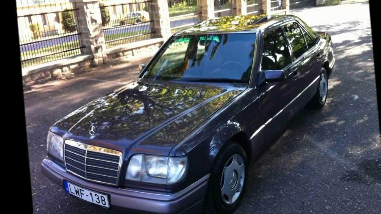 Mercedes benz e124 youtube for Mercedes benz janis