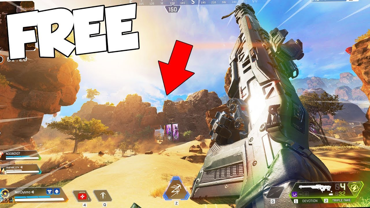 APEX LEGENDS Battle Royale... (IM IN LOVE)