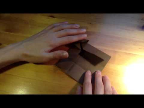 origami puppentisch aus papier basteln youtube. Black Bedroom Furniture Sets. Home Design Ideas