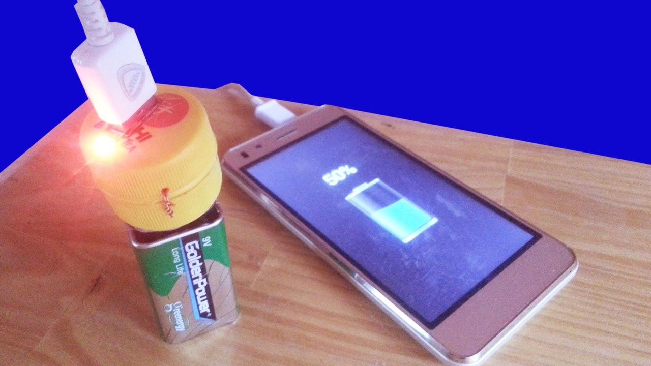 How To Make Charger 9v Smart Phone For 5v 2a Charging Youtube Hacked Circuits By 9volts