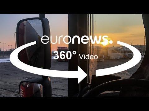A dura vida de camionista