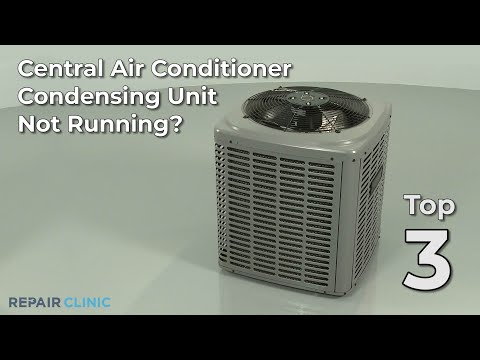 Central Air Conditioner Not Running? Central Air Conditioner Troubleshooting