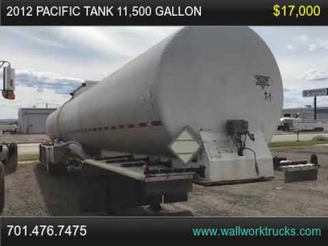 2012 Pacific Tank 11 500 Gallon For Sale, Fargo, North Dakota