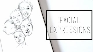 Drawing Facial Expressions · 30 Ways to Fill a Sketchbook · SemiSkimmedMin
