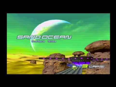 XRGB-mini Framemeister + GameCube (via Wii): F-Zero GX (Upscaled from 480i) (720p, 60fps)