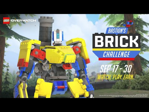 Overwatch's new event lets you unlock a Lego Bastion skin