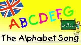 The Alphabet Song - englische Kindergarten Lieder || Kinderlieder