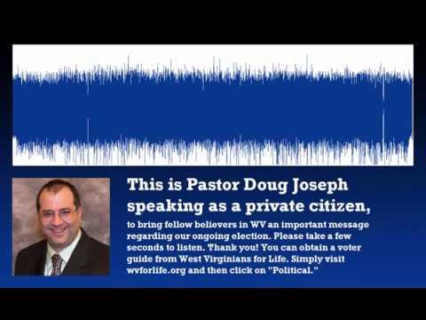 Election message from Pastor Doug Joseph