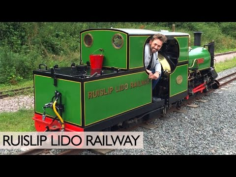 Riding The Ruislip Lido Railway