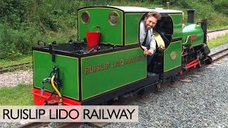 Riding The Ruislip Lido Railway