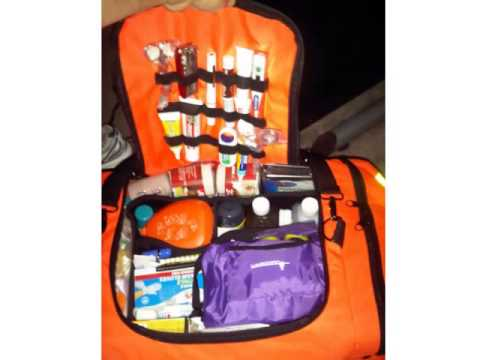 Ever Ready First Aid Fully Stocked Responder Kit Orange