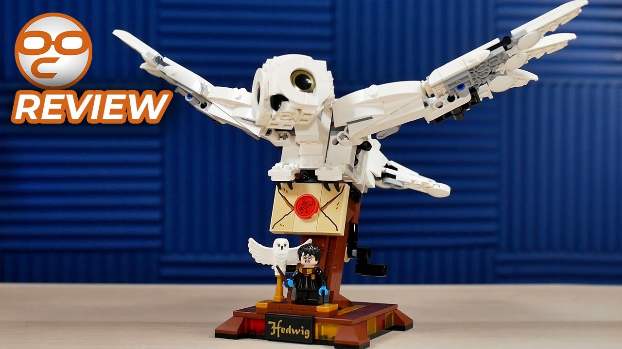 LEGO Harry Potter Hedwig 75979 Review: A Beautiful Companion!