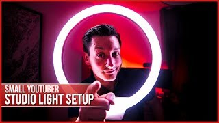 Small YouTuber Studio Ring Light - Yongnuo YN608 Review