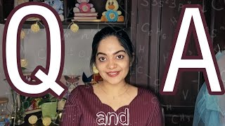 Answers to your Questions | Ahaana Krishna