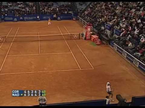 Guillermo Coria v Rafael Nadal Rome 2005 Final 5th set highlights