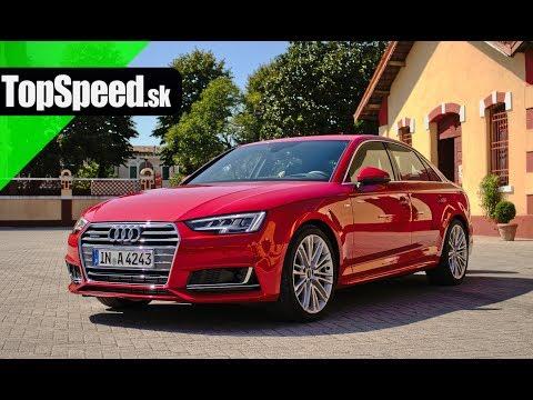 Prvá Jazda Audi A4 B9 201 Topspeedsk ржачные видео приколы